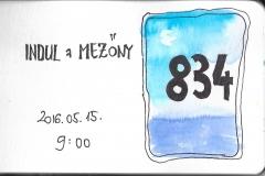834es rajtszámmal indulunk