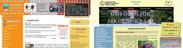 Iskolai weboldalak – mindig van házi feladat