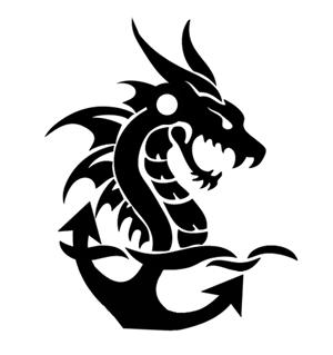 """Hogyan készült a """"Vasmacskák"""" csapat sárkányhajós logója?"""