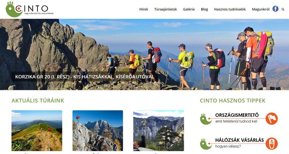 Nagy kalandok kis csoportoknak – CINTO Túraklub