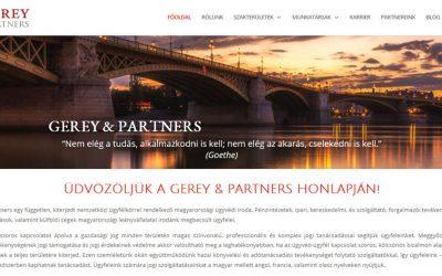 Gerey & Partners ügyvédi iroda