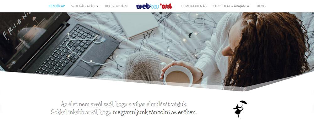 Megújult a webrev'art honlapja is…